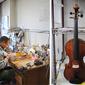 滋賀 浜大津でヴァイオリンの修理を Werkstatt der Hobel